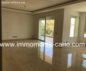 appartement à louer au quartier Souissi Rabat