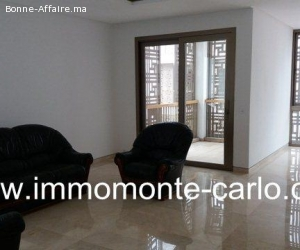 Appartement neuf avec terrasse à la Marina Bab El Baher