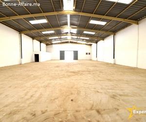 Bâtiment de production/stockage de 2.000 m² Parc Sapino
