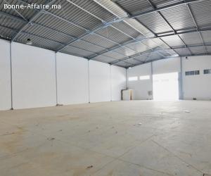 16 dépôts industriels de 600 m² chacun à Bouskoura