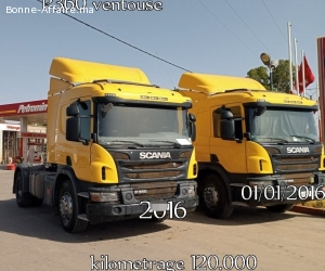 2 Camions Scania P360 ventouse