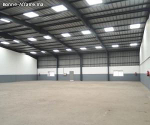 3 Bâtiments de production ou stockage de 2400 m² à Aïn Sebaâ