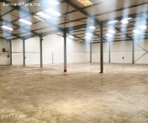 A louer — Bâtiment de production-stockage 10.000 m² — ZI Ain