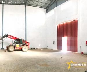 A louer – Bâtiment de stockage de 500 m² PI Sapino, Nouaceur