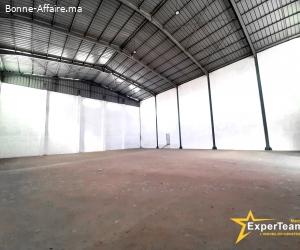 A louer – Bâtiment de stockage de 700 m² PI Sapino, Nouaceur
