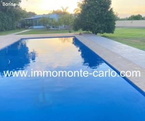 À louer villa avec piscine à Rabat