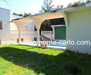 A louer villa avec piscine et chauffage central Souissi RABA