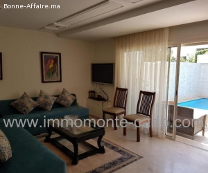 A louer villa haut standing avec piscine à Hay Riad