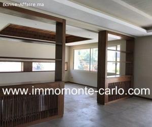 À vendre à Rabat villa neuve haut standing au quartier Soui