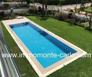 À vendre  villa neuve haut standing à Souissi