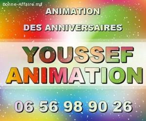 animation des anniversaires Dj à Casablanca