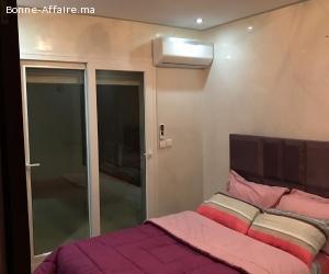 appartement à louer par nuitée à malabata tanger