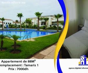 Appartement  à tamaris1. de 88 m²