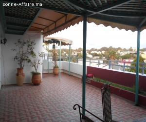 Appartement avec belle terrasse en location à RabaT Agdal