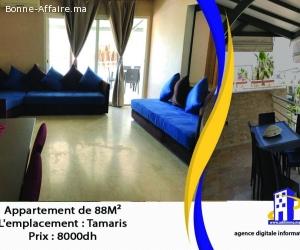 Appartement  de 88 m² a tamaris