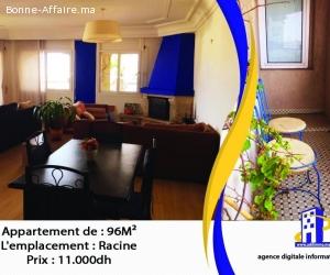Appartement de haut standing à louer de 96 m²