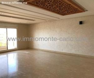 Appartement de standing avec terrasse au haut  Agdal Rabat