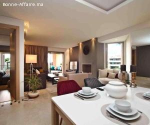 appartement équipé 2 chs longue durée Marrakech