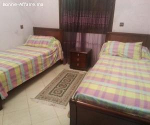 appartement meublé à Harhoura;Rabat