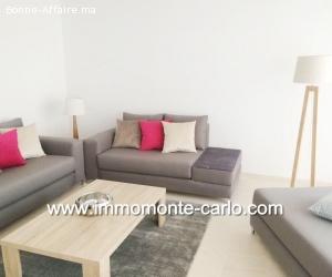 Appartement neuf, haut standing  meublé à orangerie souissi