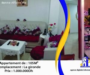 Appartements Haut standing de 105 m²