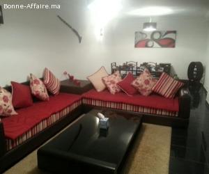 appartment meublé a louer à Harhoura,Rabat