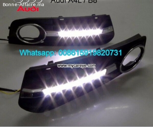 AUDI A4L DRL LED Daytime Running Lights Car parts