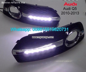 AUDI Q5 LED cree DRL day time running lights driving dayligh