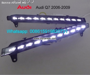 AUDI Q7 led driving lights DRL turn signal Daytime Light ste