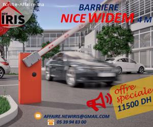 BARRIÉRE  4 M NICE WIDEM