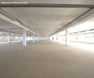 Bâtiment de production 2.000 m² — Zone Industrielle Lissasfa