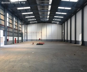 Bâtiment de production et de stockage de1.700m² à Ain Sebaâ