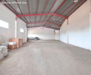 Bâtiment de production et stockage — 1.000 m² à Lissasfa