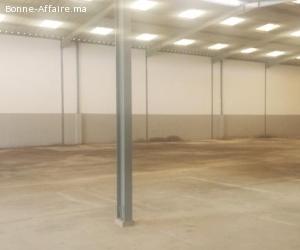 Bâtiment de production et stockage de 1.500 m² à Bouskoura