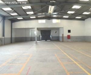 Bâtiment de production/stockage — 1.350 m²