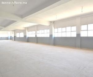Bâtiment de production/stockage — 3.200 m²  Sidi Mâarouf
