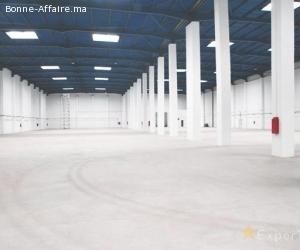 Bâtiment de production/stockage — 5.000 m² + bureaux