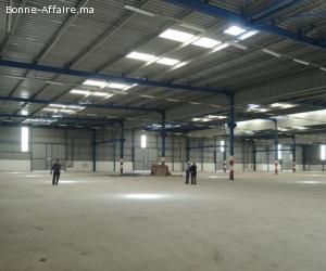 Bâtiment de production/stockage 5.875 m² à Lissasfa