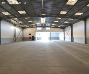 Bâtiment de production/stockage 820 m² — ZI Bouskoura