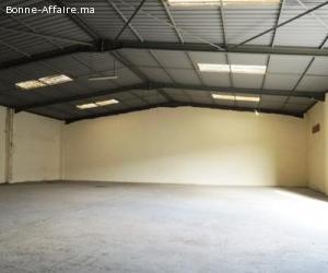 Bâtiment de stockage 500 m² – Médiouna, Casablanca