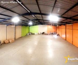Bâtiment Industriel 1.200 m² — Sapino, Grand Casablanca