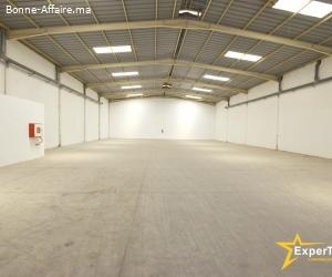 Bâtiment industriel de 1.100 m² - Parc Sapino, Nouaceur