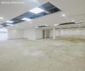 Bâtiment industriel neuf de 2.500 m² Bouskoura — ZI SAPINO