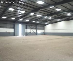 Bâtiments de production/stockage 2.400 m² à Zenata Aïn Sebaa