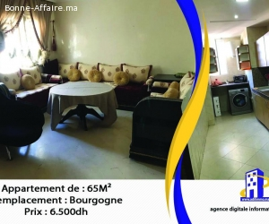 Bel appartement de 65 m2 à Bourgogne
