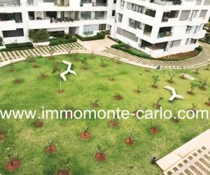 Bel appartement meublé avec terrasse Orangeraie de Souissi