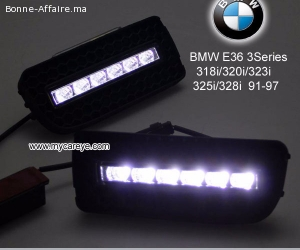 BMW E36 M3 318i 320i 323i 325i 328i DRL LED driving lights a