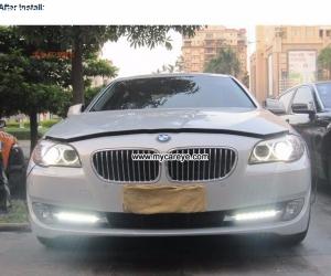 BMW Series 5 F10 F11 F18:520i 523i 525i 528i DRL LED Lights