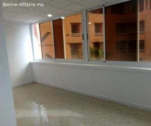 bureau de 90m² en location en plein centre guéliz