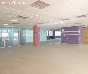 Bureau haut de gamme de 438 m² au Boulevard Bir Anzarane